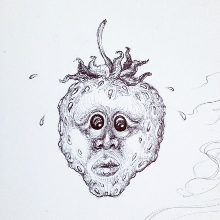 hikoileva mansikka